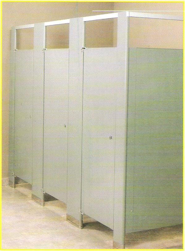 卫生间隔断金属板