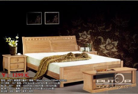 实木床-产品信息-青岛名派家具有限公司-家具